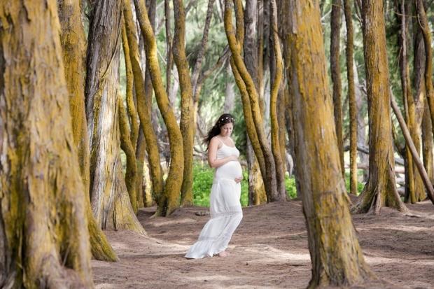 Oahu Hawaii maternity family photography